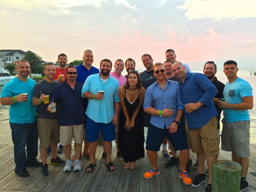Bachelor booze cruise Fish Tails Ocean City Maryland